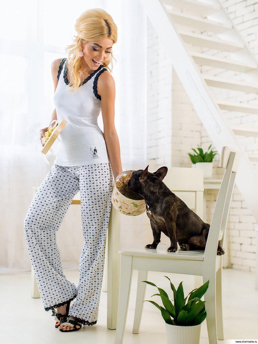 Домашний комплект (майка + штаны), Charmante