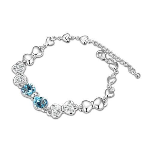 Браслет с кристаллами Сваровски, модная бижутерия