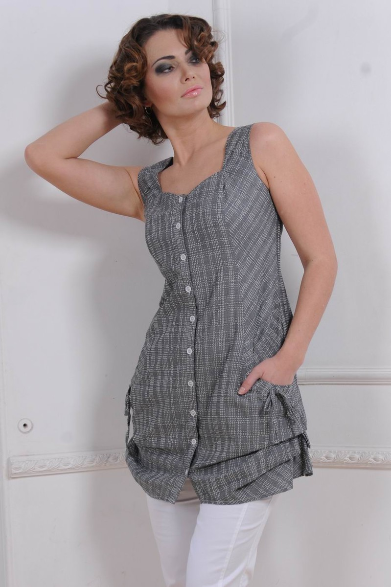 Платье-туника, Monocollection