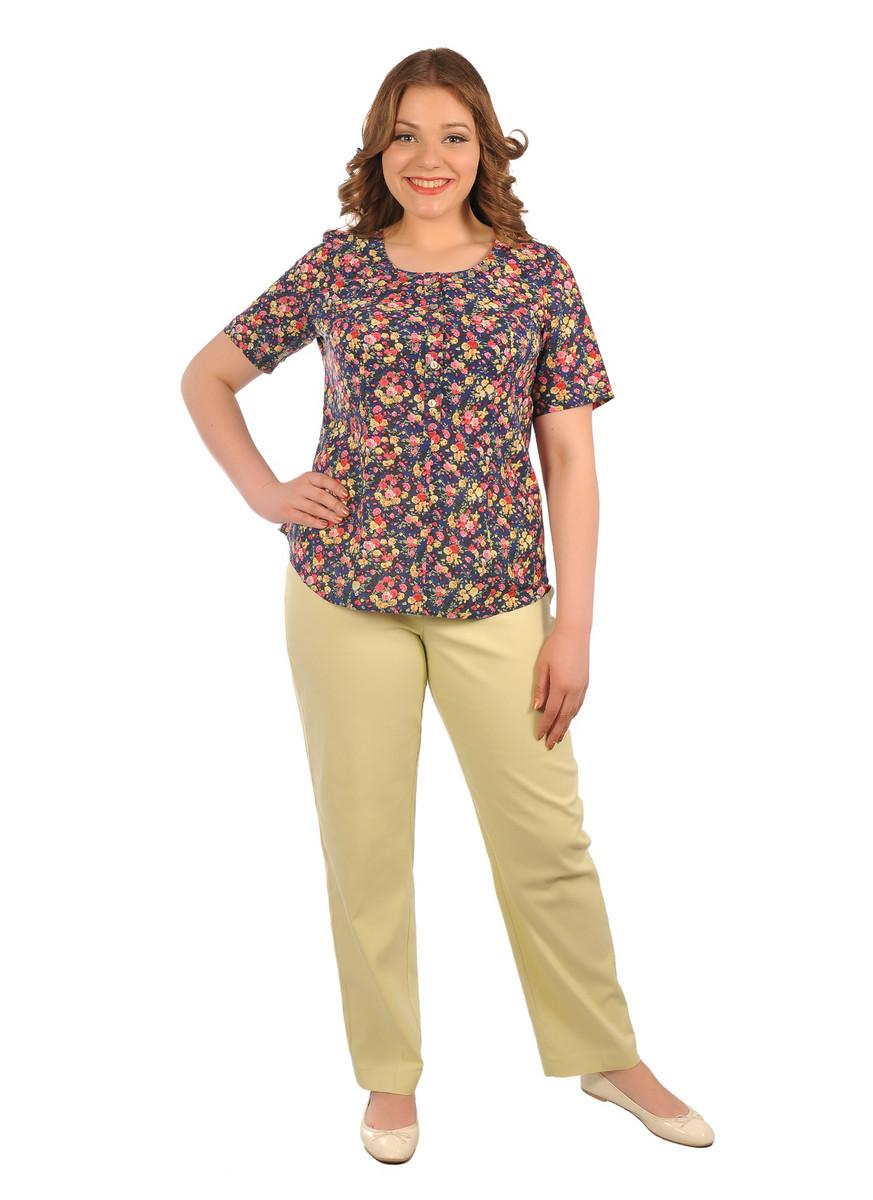 Блуза Мелкий цветочек, Intikoma