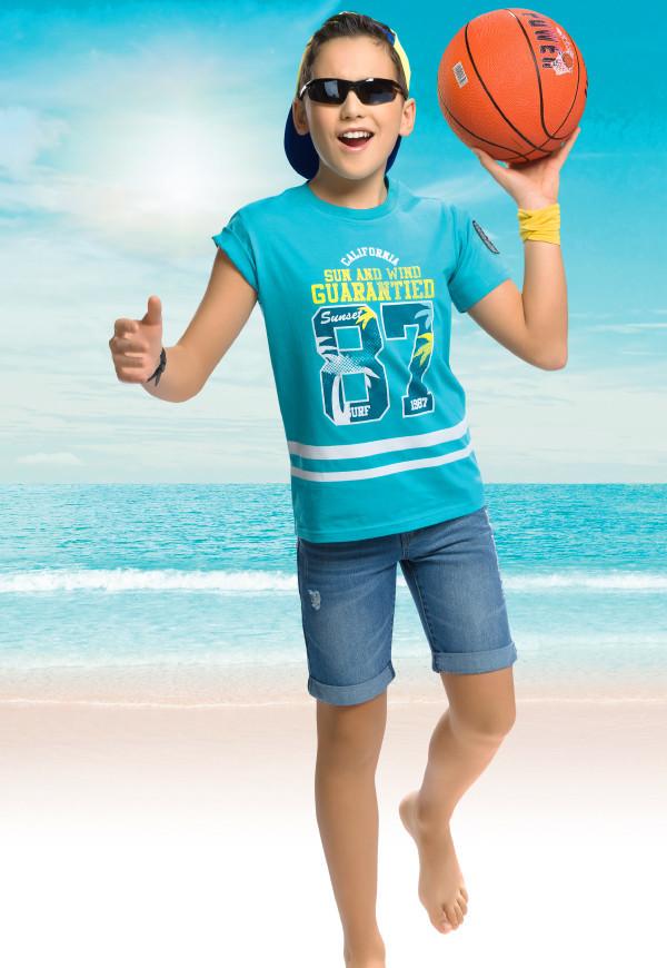 Футболка для мальчиков, Pelican