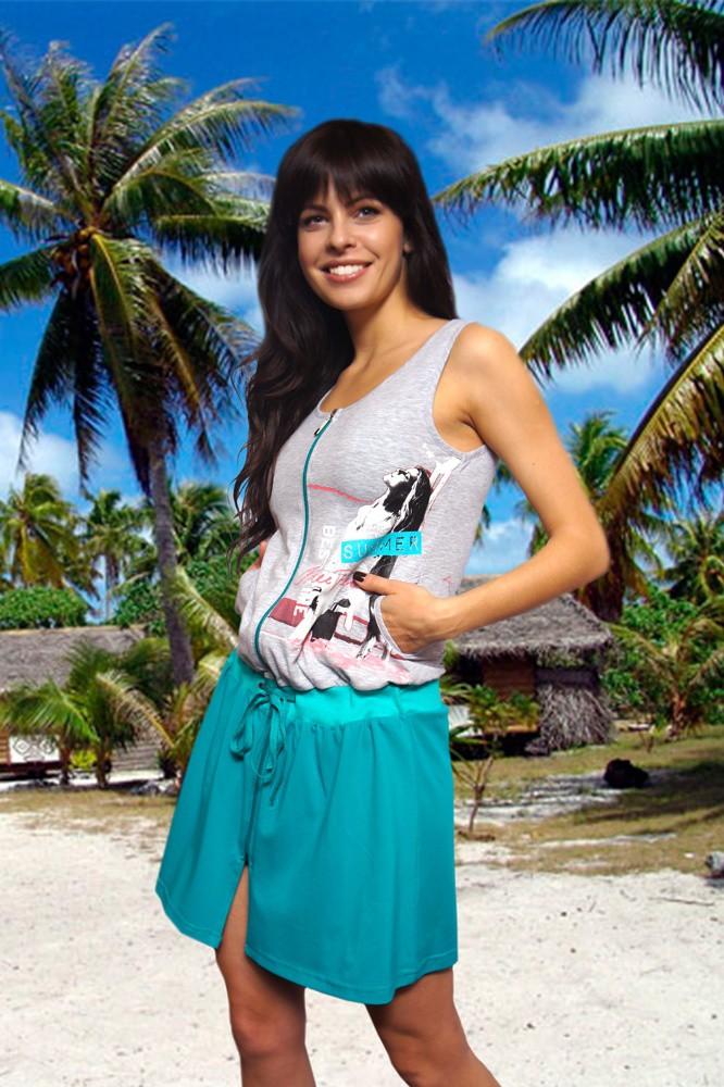 Пляжное Платье, Mix-Mode