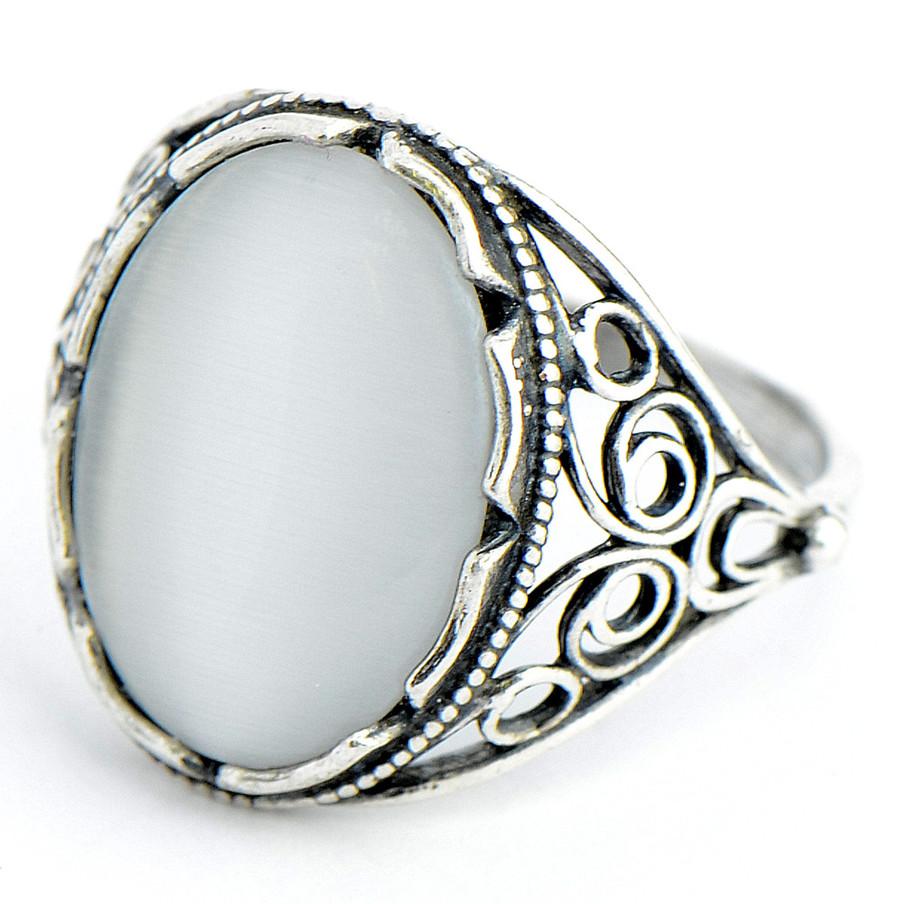 Кольцо Олеся Кошачий глаз,