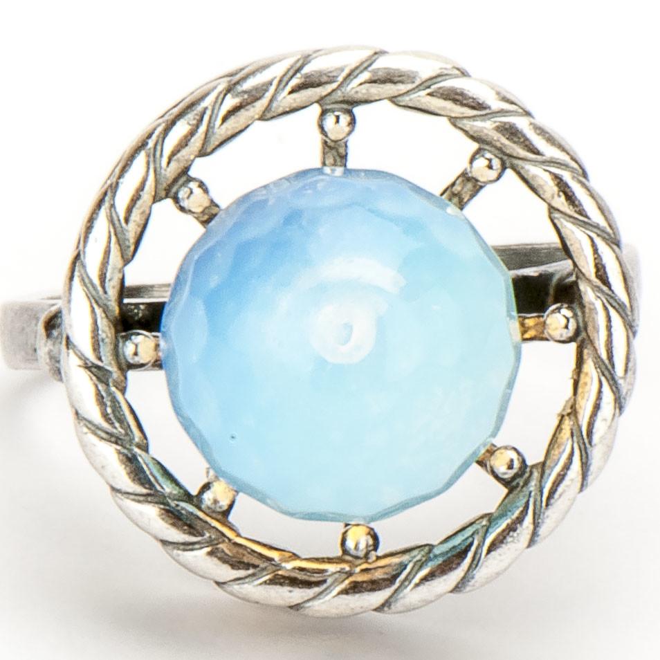 "Кольцо ""Веста""  лунный камень, Бусики-Колечки"