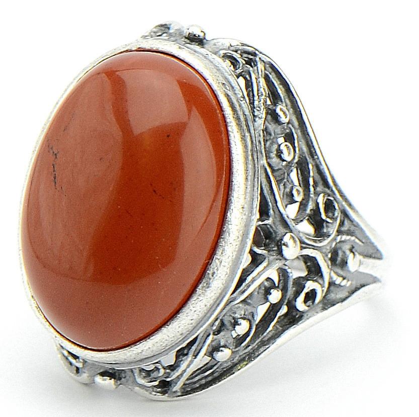 Кольцо Амброзия яшма, Бусики-Колечки