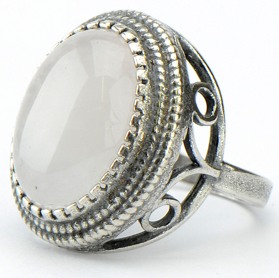 Кольцо Мариса розовый кварц, Бусики-Колечки