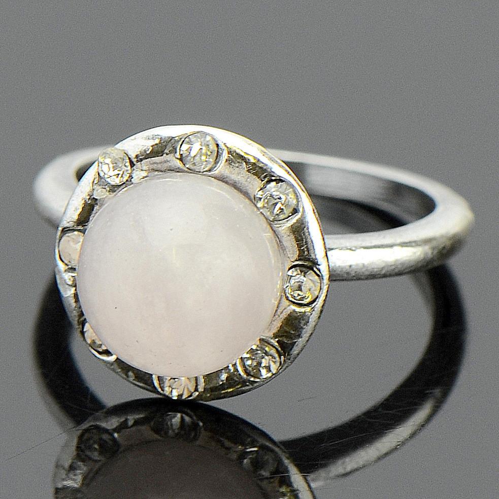 Кольцо романс розовый кварц бусики колечки кольцо лаватера розовый кварц арт ск 4986