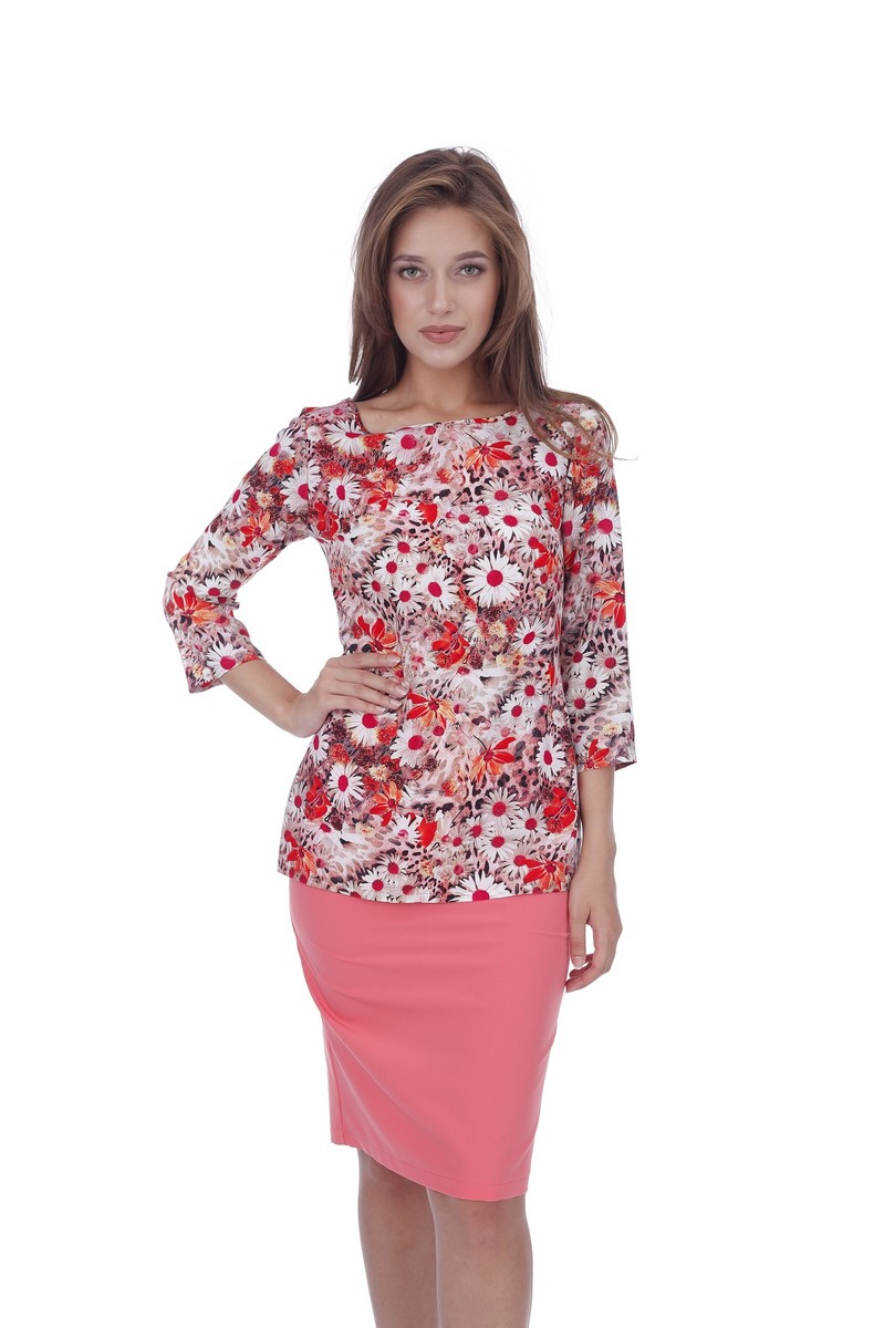 "Блуза ""Цветы-ромашки"", Gia-Marie (Glauri)"