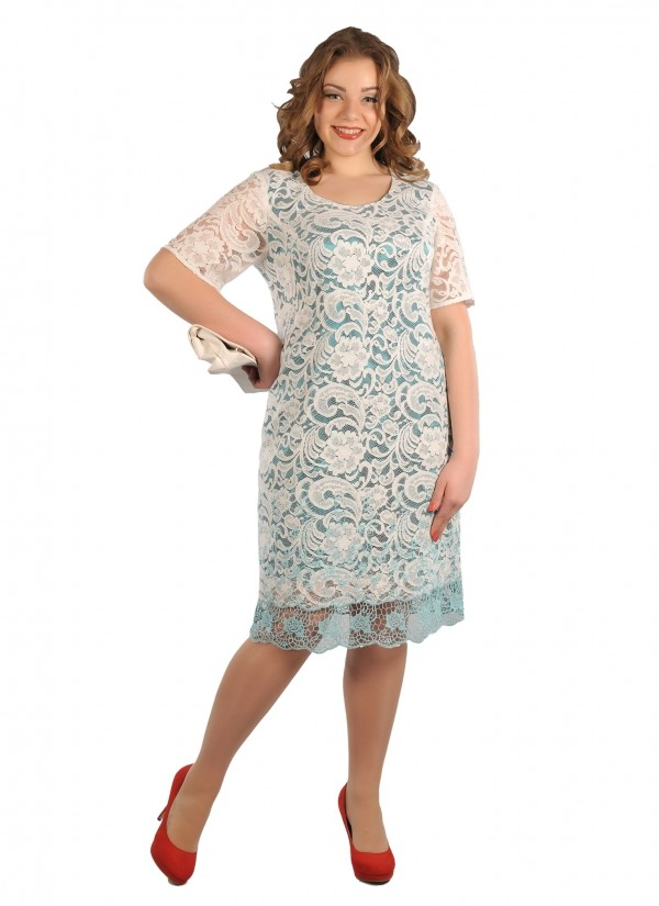 "Платье ""Белое Кружево"", Intikoma"