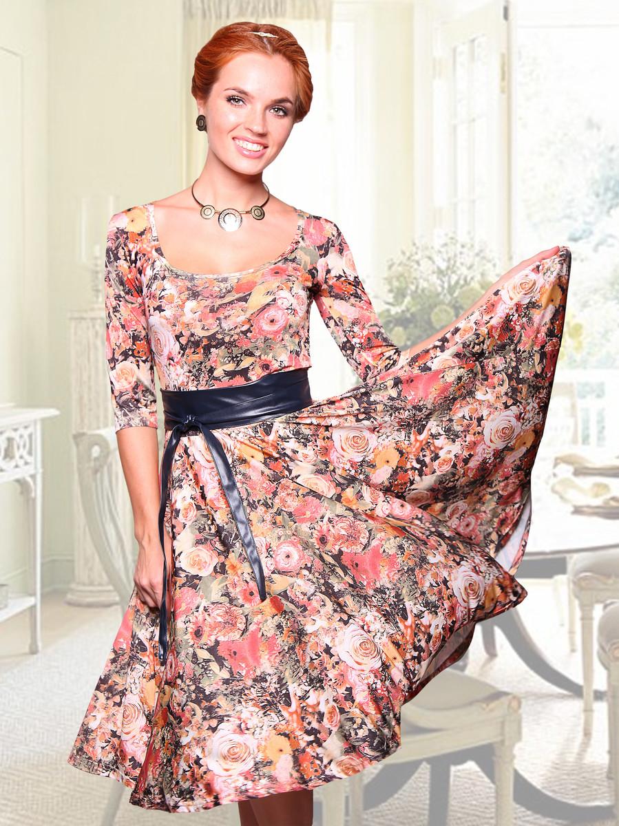 Платье Бэль (с поясом), CHARUTTI