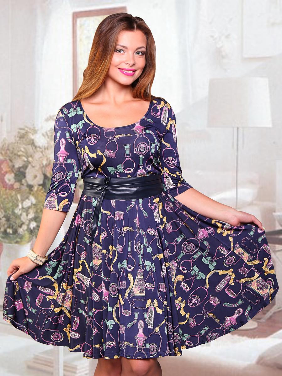 Платье Жизель (с поясом), CHARUTTI