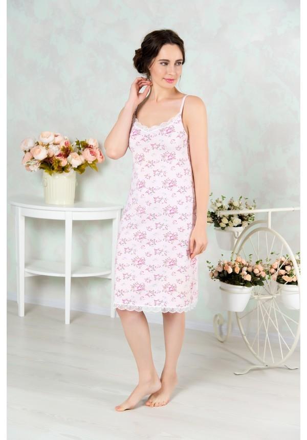 Сорочка пижама жен mia cara майка шорты botanical aw15 ubl lst 264 р 42 44 1119503