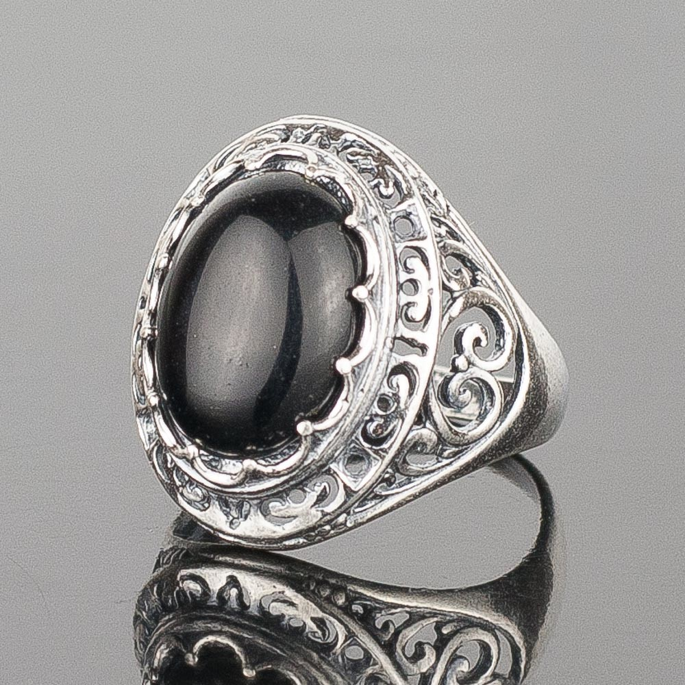 "Кольцо ""герцогиня"" им. агата"