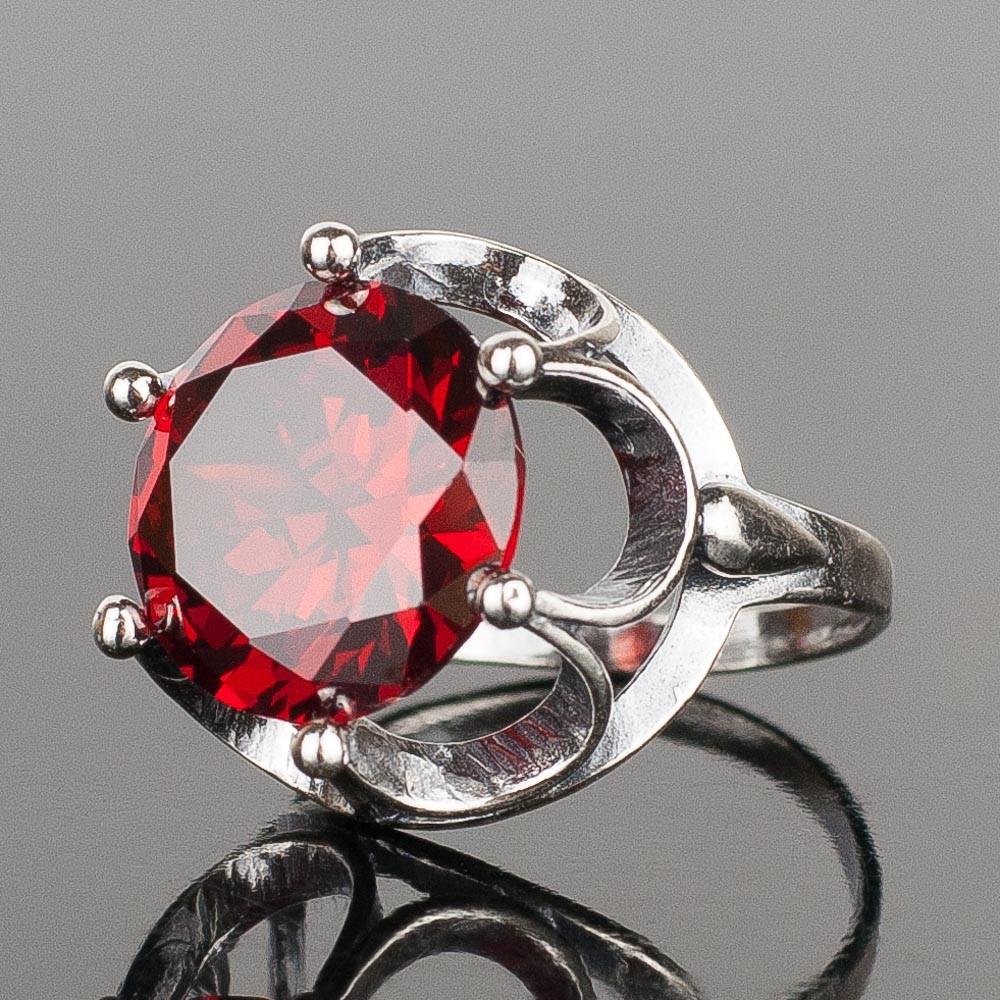 Кольцо идезия фианит