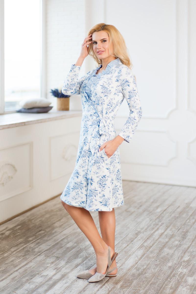 Халат пижама жен mia cara майка шорты botanical aw15 ubl lst 264 р 42 44 1119503